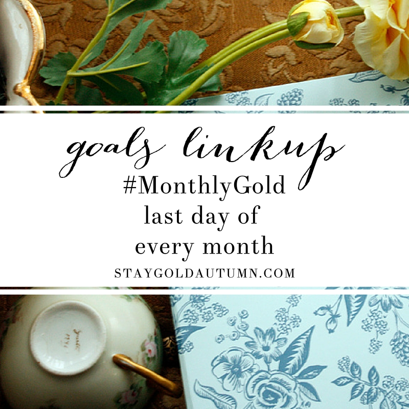 Monthly Goal Linkup