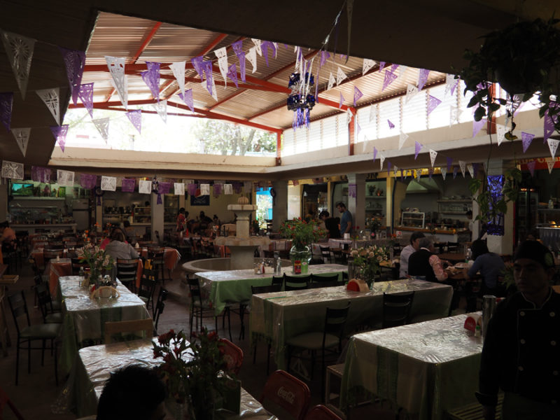 An open air restaurant market experience in Oaxaca City, Mexico. The food was delicious! | Stay gold Autumn