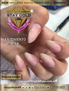 garritas Lela uñas esculpidas en villa devoto 3