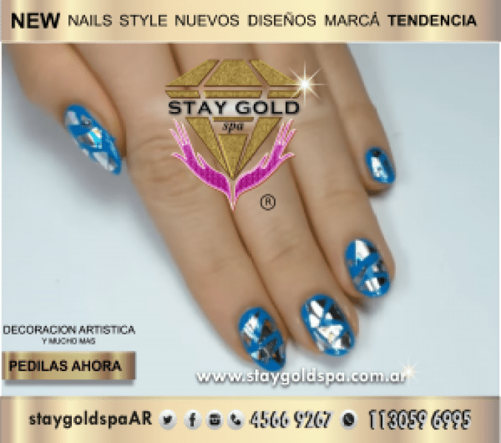 metalic sky nails uñas esculpidas cerca de Flores Capital Federal 2