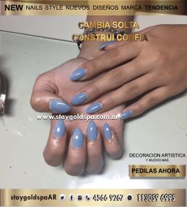 garritas Lela uñas esculpidas en villa devoto 2