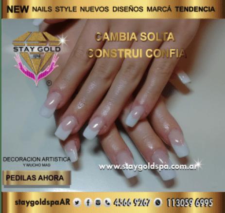 french teen nails after uñas esculpidas