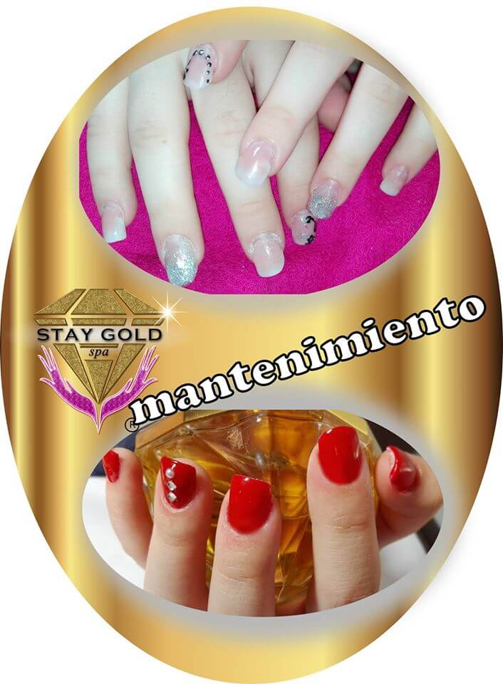mantenimiento uñas esculpidas