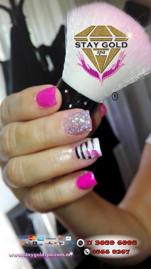 creative show nails