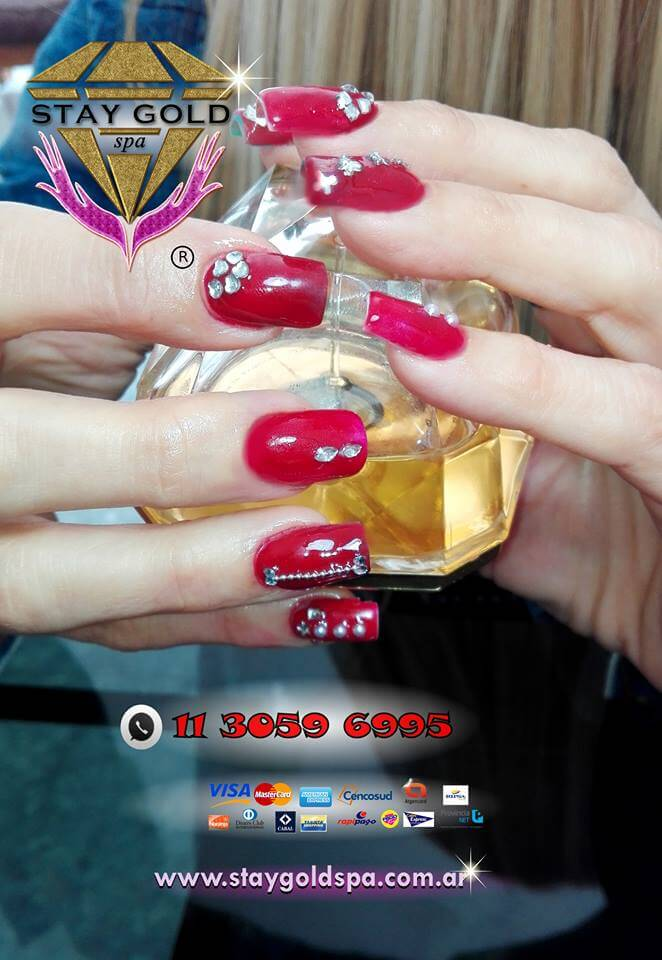 Uñas Decoradas strawberries nails