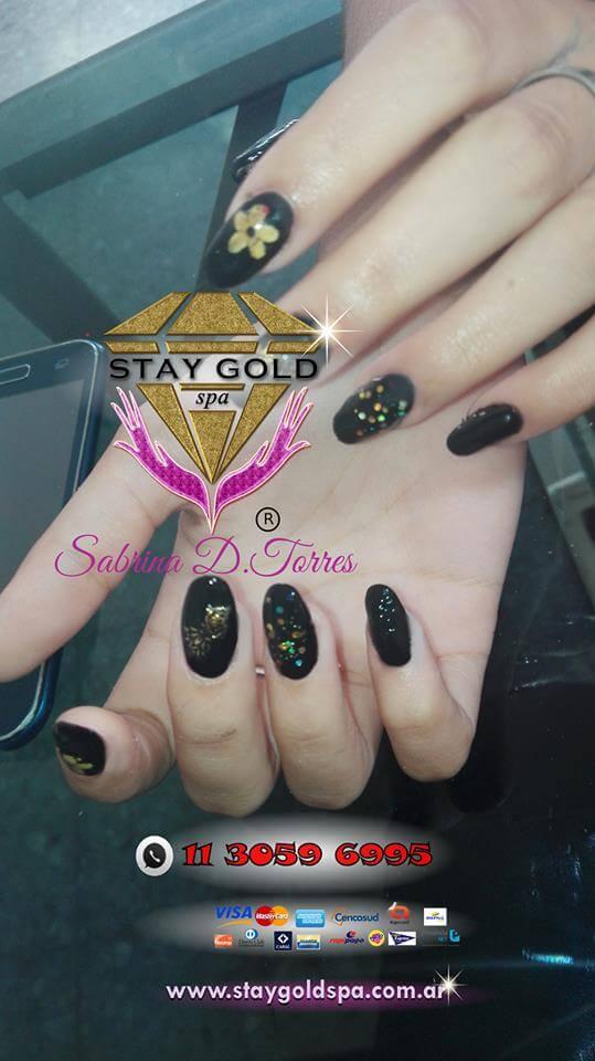 Black Surprise Nails
