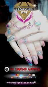 Uñas Esculpidas de Gel y Acrilicas, Diseños Personalizadas, Nail Art. Belleza de Manos y Pies, Manicura y Pedicura.