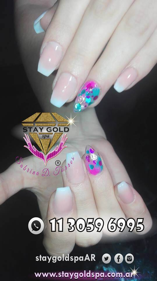 Pink Baby Boomer Nails Uñas Esculpidas Rosas