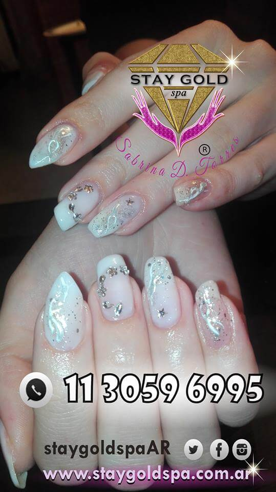nail art model tutti form for brides 03