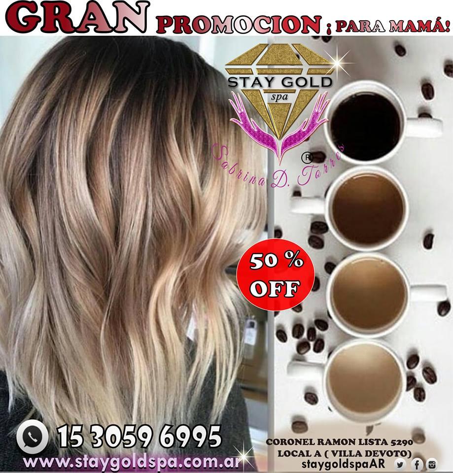 50 off en balayage recoleta peinado famosas promo precio