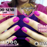 esmaltado semipermanente liso promo stay gold spa