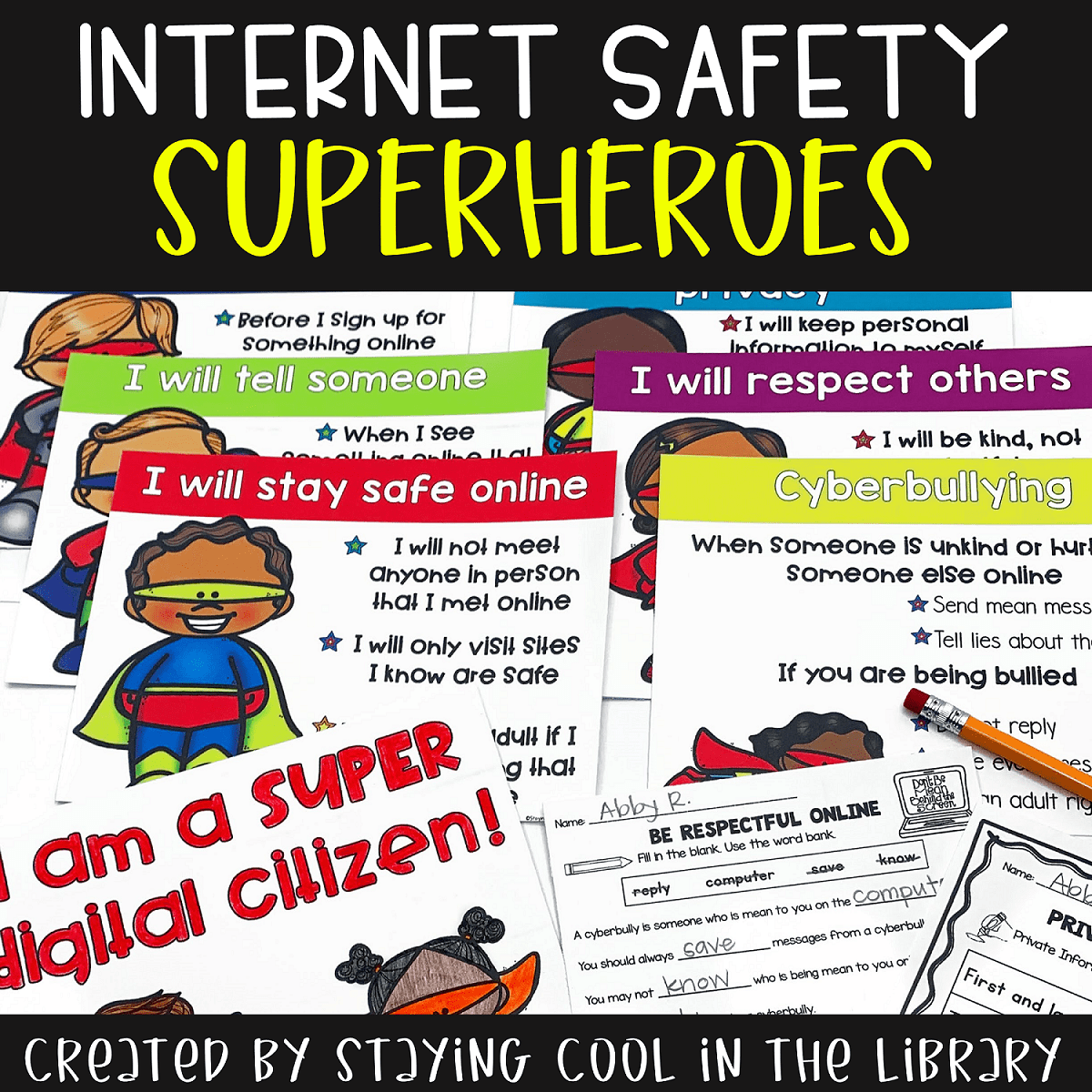 Internet Safety Posters And Activities K 2