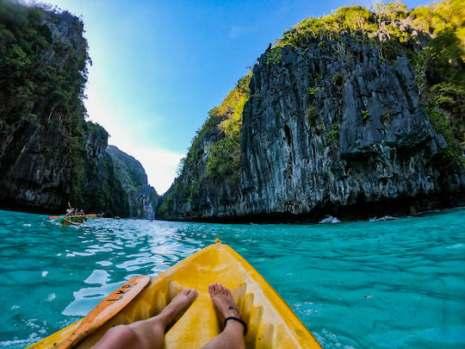 Big Lagoon, El Nido, Palawan, Philippines | Kayaking Adventures | Stay Lost
