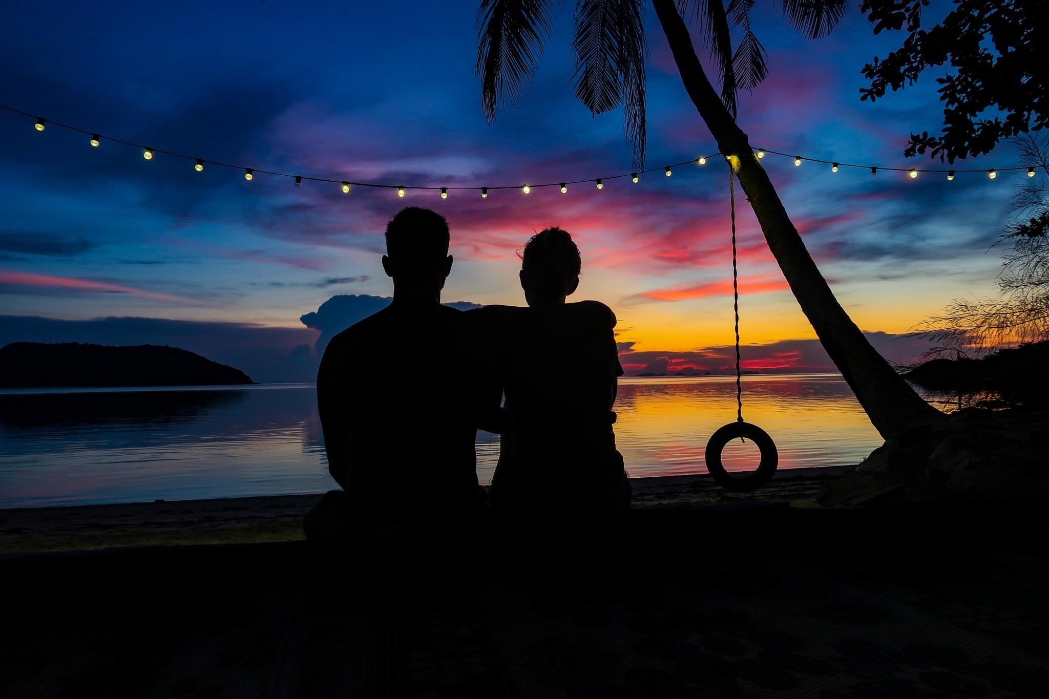 Koh Phangan Thailand Sunset - Stay Lost