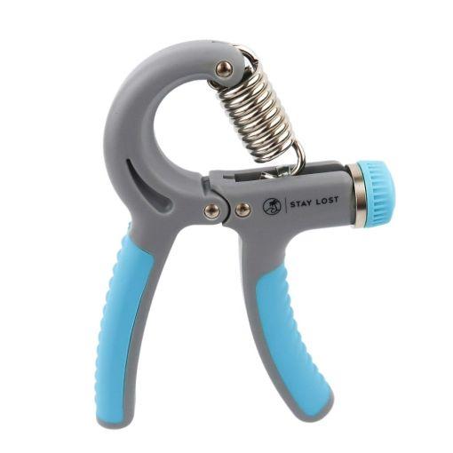 Light Blue Grip Strengthener Logo Side Image