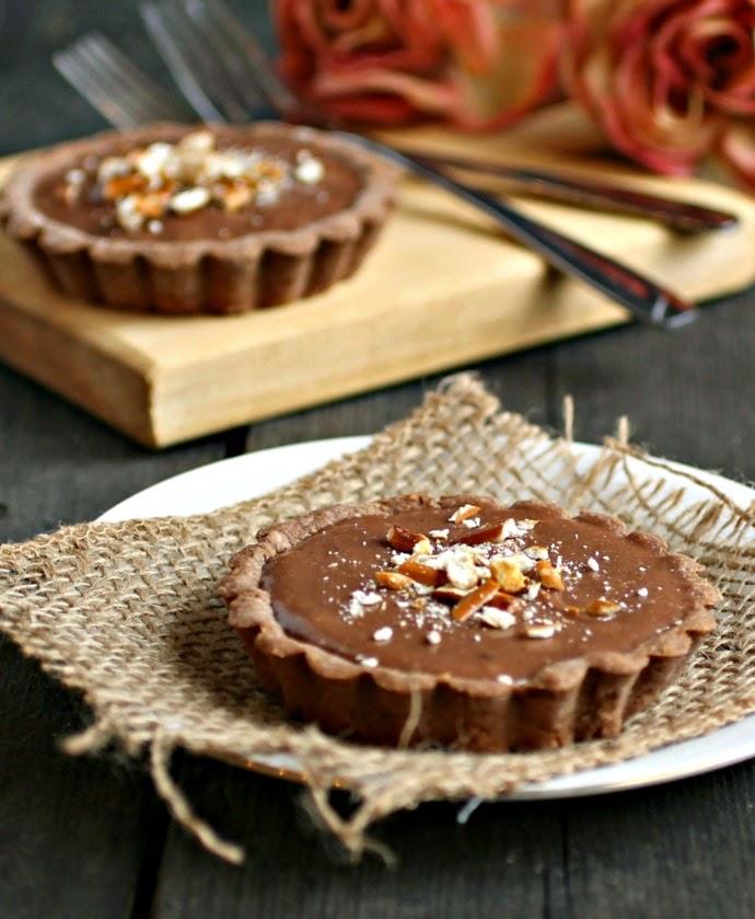 Keto Chocolate Peanut Butter Tarts