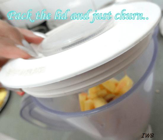 Papaya and Sun Melon Summer Fruit Drink Recipe13