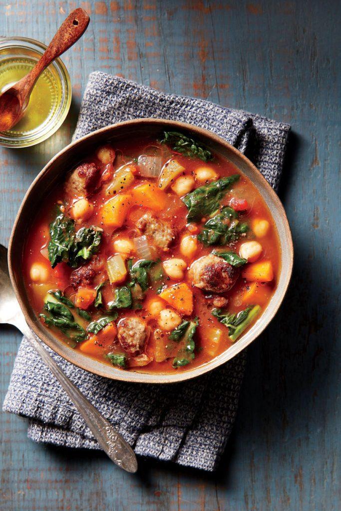 Keto Peppered Sausage Soup
