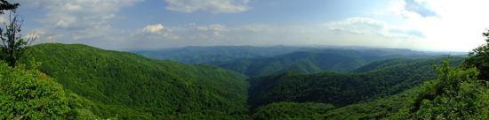 Beskrajna šuma viđena sa Šomrdskog kamena