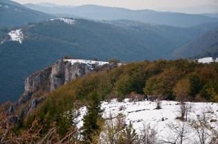 Jedan od vidikovaca na južnoj strani Ostreča