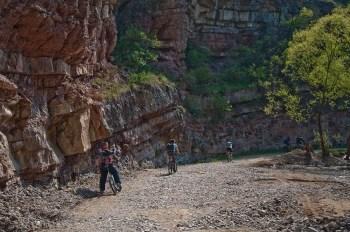 Kroz kanjon Boljetinke