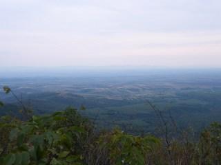 Pogled sa Vršačkog vrha