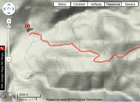 Izgled mape u Terenskom modu