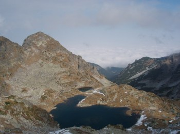 Elenino jezero na 2500 m