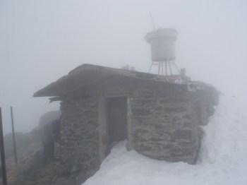 Obelezje vrha Pietrol 2303 m.n.v.