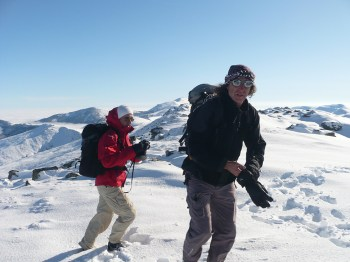 slika sa vrha - pozadi je Solunska Glava (2540 m)