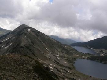 Vrh Sivria i Kamenska jezera