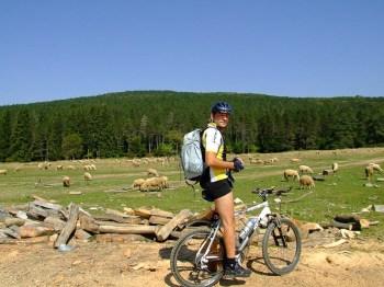 Biciklom preko Troglan Bara