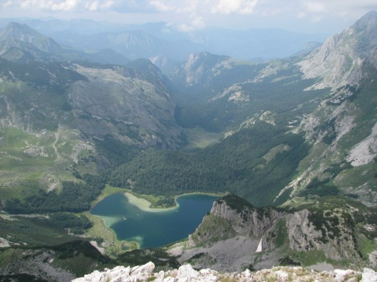 Trnovačko jezero sa Trzivke