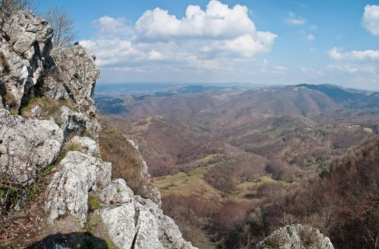 Pogled sa Stena pored Hajdučkog kladenca