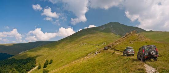 Put oko vrha Oslea kojim ćete se spuštati