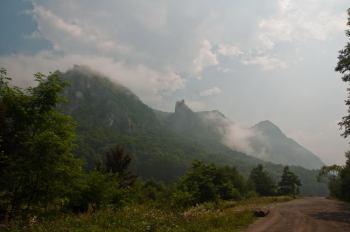 Severoistočno od Banje Herkulana, Valea Cernei