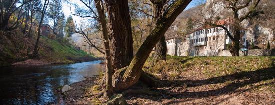 Polazak na uspon od manastira Gornjak