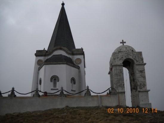 Obeležje vrha Kajmakčalana
