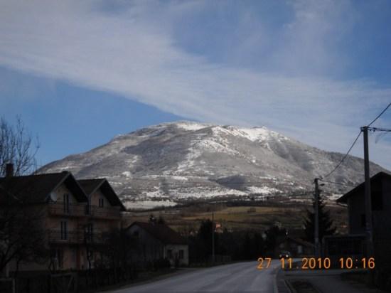 Planina i istoimeni vrh Kalin  1530 m