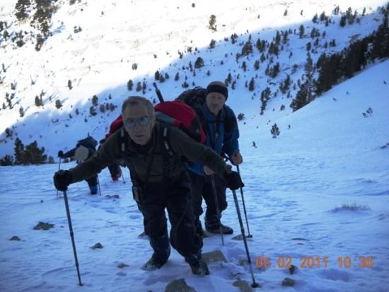 Završni uspon ka vrhu