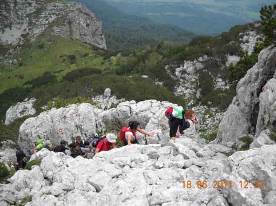 Jedan od detalja uspona ka vrhu