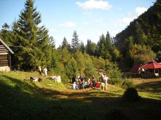 Pl.dom Treskavac u selu Sustavac