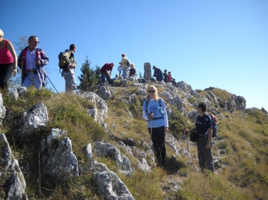 Planinari na vrhu