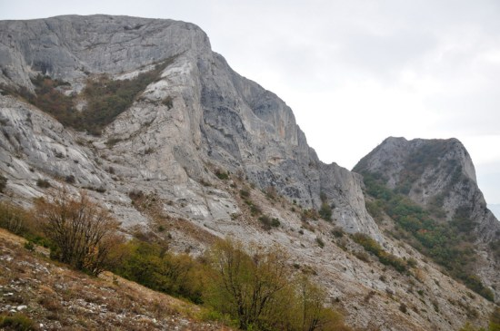 Stene Galchina - zapadna i juzna strana