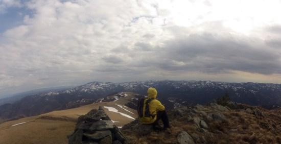 Vrh Mečit 1756mnv, Gloška planina