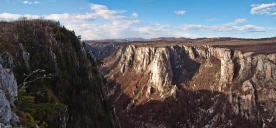 Pogled sa Koveja ka kanjonu