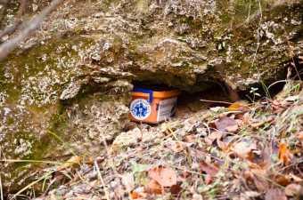 Vodopad Prskalo u svojoj rupi