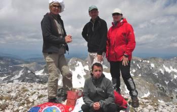 Na vrhu Veliki Vitao (2397 m.n.v.)