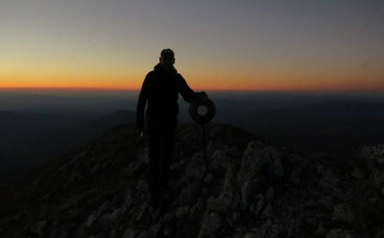 Sokolov kamen i zalazak sunca