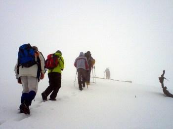 Izlazak na vrh Lisac